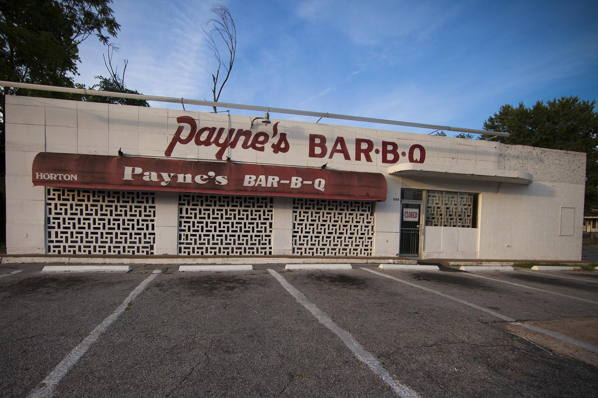 Payne's Bar-B-Que, Memphis