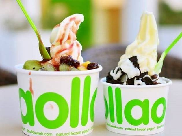 Best froyo joints in Singapore