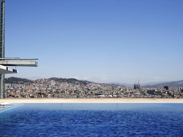 Les piscines descobertes de la ciutat