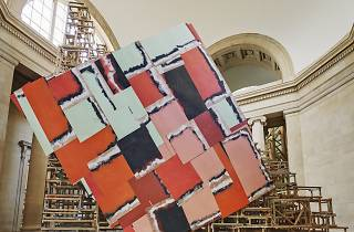 "Installation view: ""Phyllida Barlow. dock', Tate Britain, London, England"