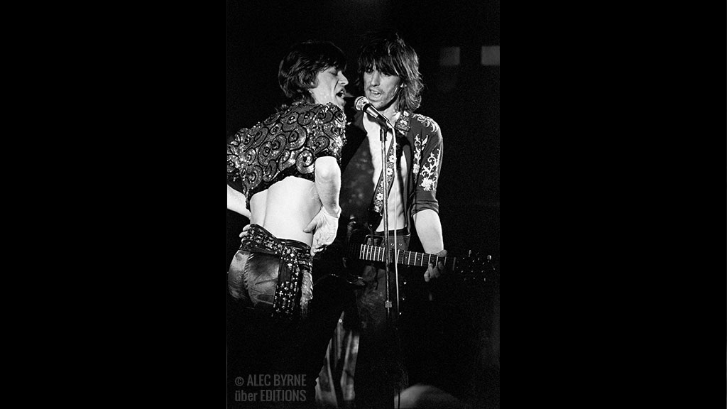 Mick Jagger and Keith Richards, The Rolling Stones, 1971