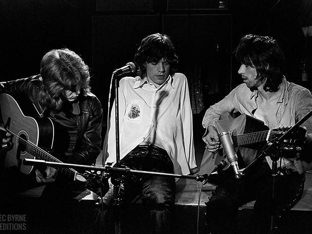 Mick Taylor, Mick Jagger and Keith Richards, The Rolling Stones, 1971