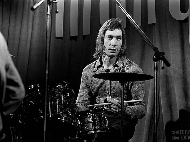 Charlie Watts, The Rolling Stones, 1971