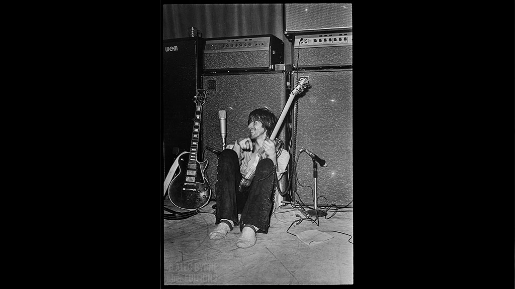 Keith Richards, The Rolling Stones, 1971