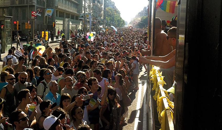 Gay Pride 2015: The parade