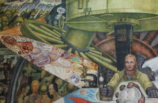 El hombre controlador del universo, Diego Rivera