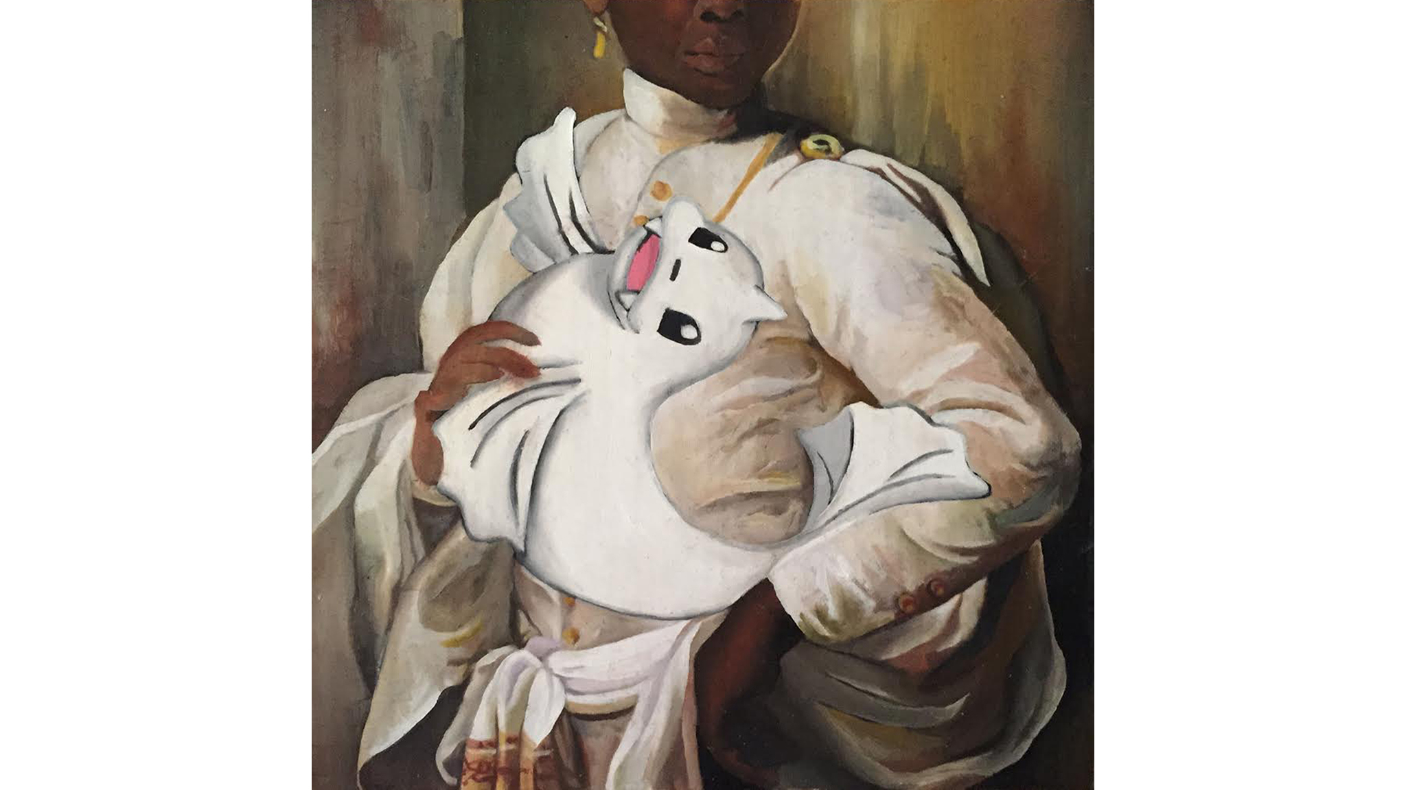 Portrait of a Young Man with his Dewgong
