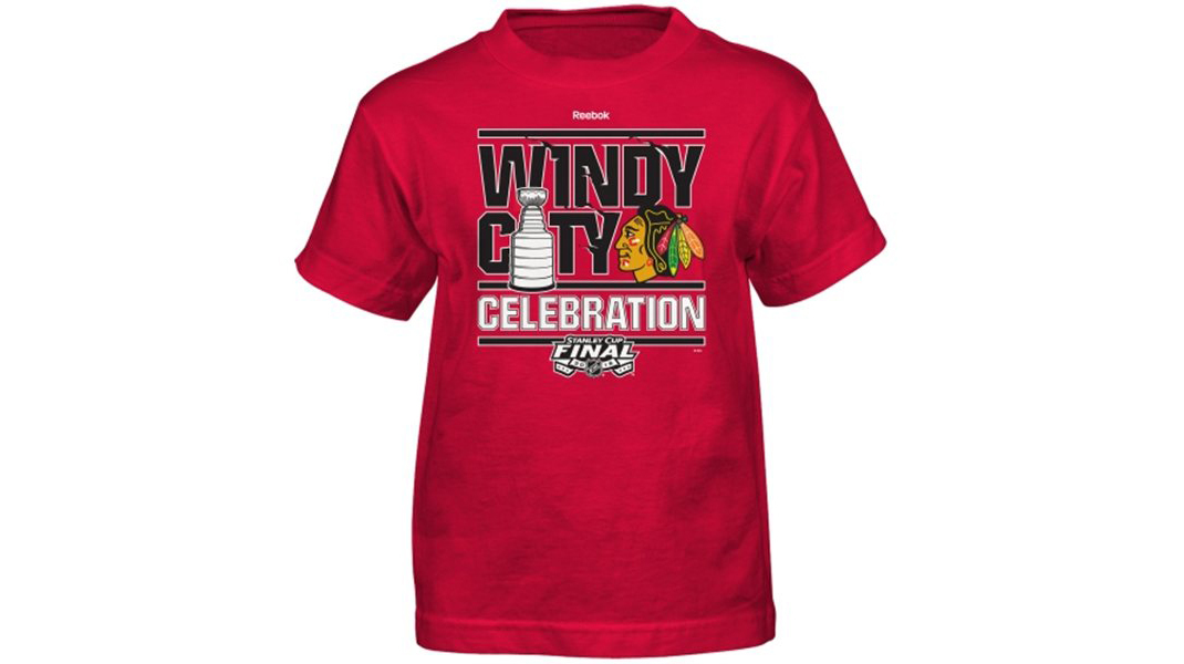 Blackhawks Championship Locker Room Shirt