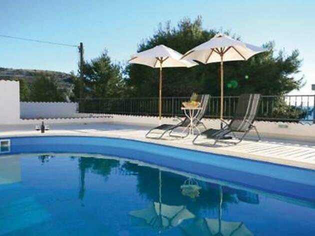 Five-Bedroom Holiday home Primosten with Sea view 06