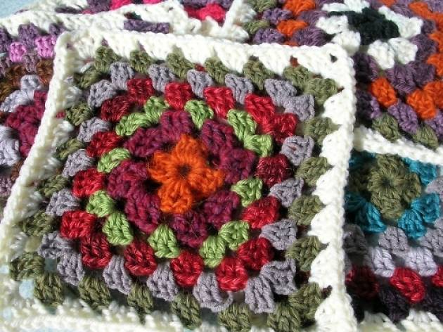 Granny Squares workshop