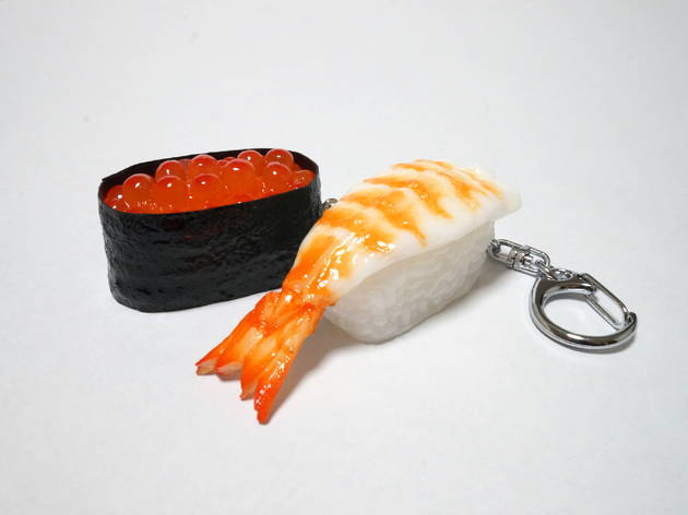 Sushi keyrings