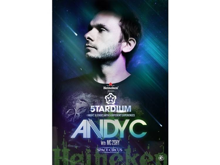 Andy C with MC 2shy