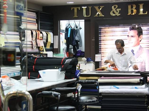 Tux and Blazer