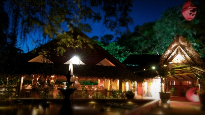 Dine in the jungle without leaving the city at Tamarind Springs