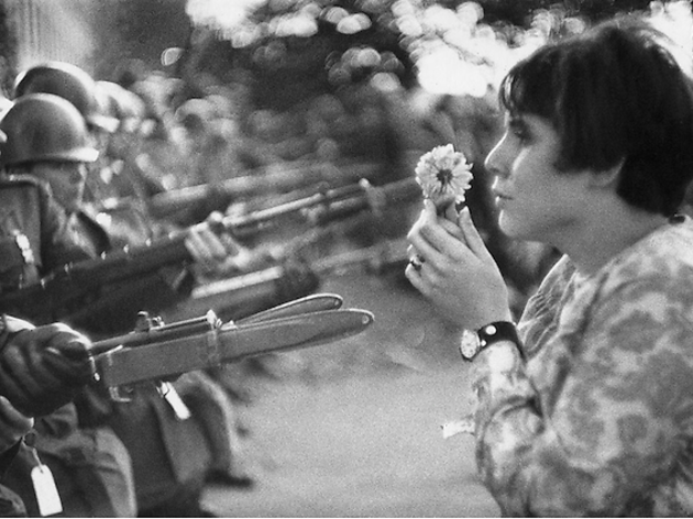 (Marc Riboud, 'Washington', Etats-Unis, 1967 / Courtesy de Marc Riboud et galerie Polka, Paris)