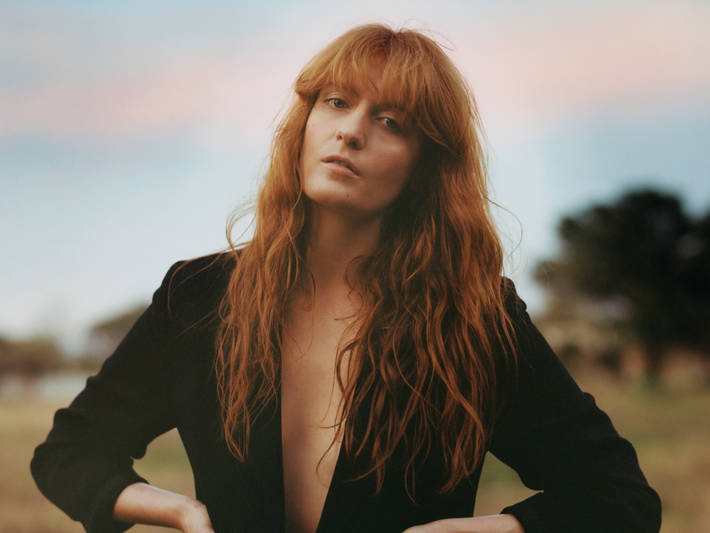 Florence Welch by Laura Coulson