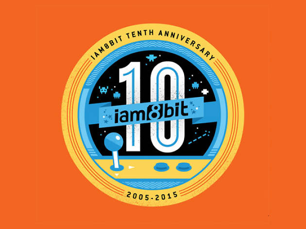 iam8bit 10th Anniversary Art Show