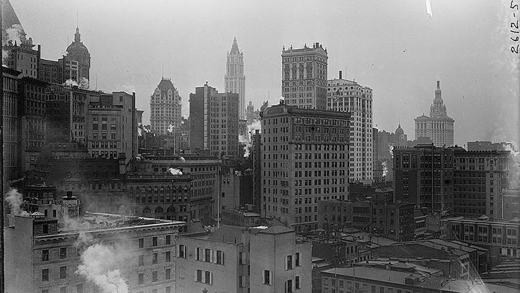 Wow! The New York Skyline's Incredible Story In Pictures |Museum New York Skyline 1920