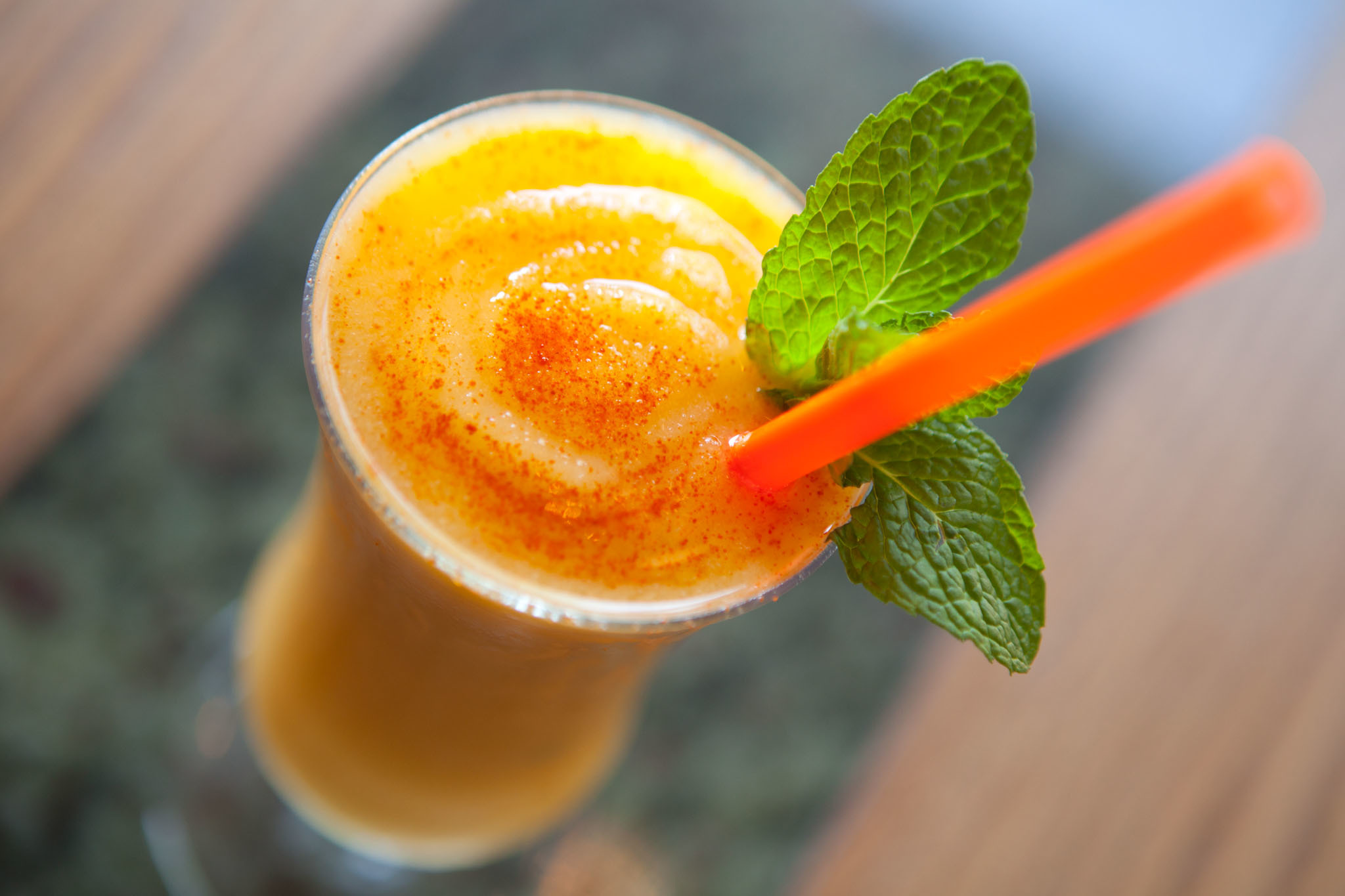Mango Lassi at Pub Royale, $8
