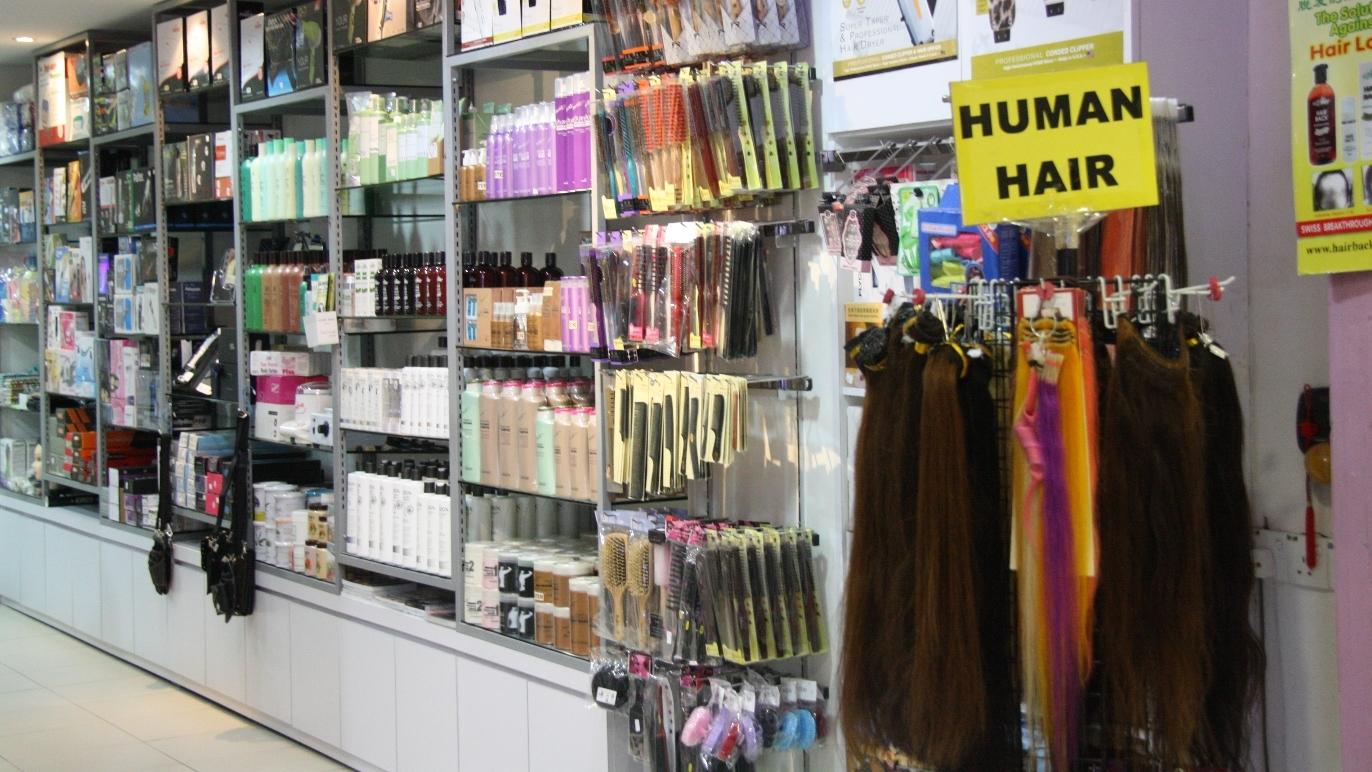 Sungei Wang shampoo store