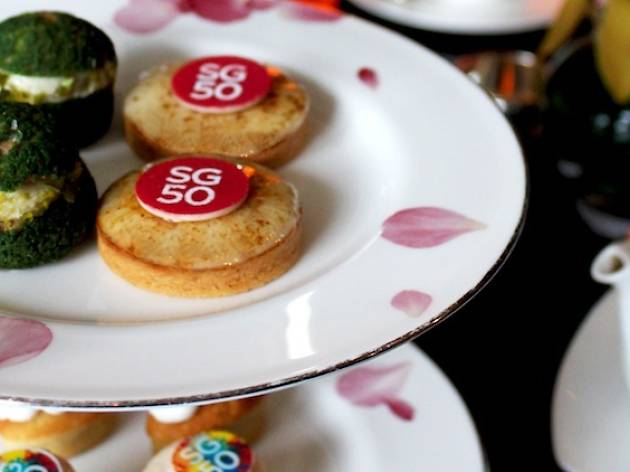 SG50 Singapore Food Trail August Afternoon Tea at Axis Bar and Lounge