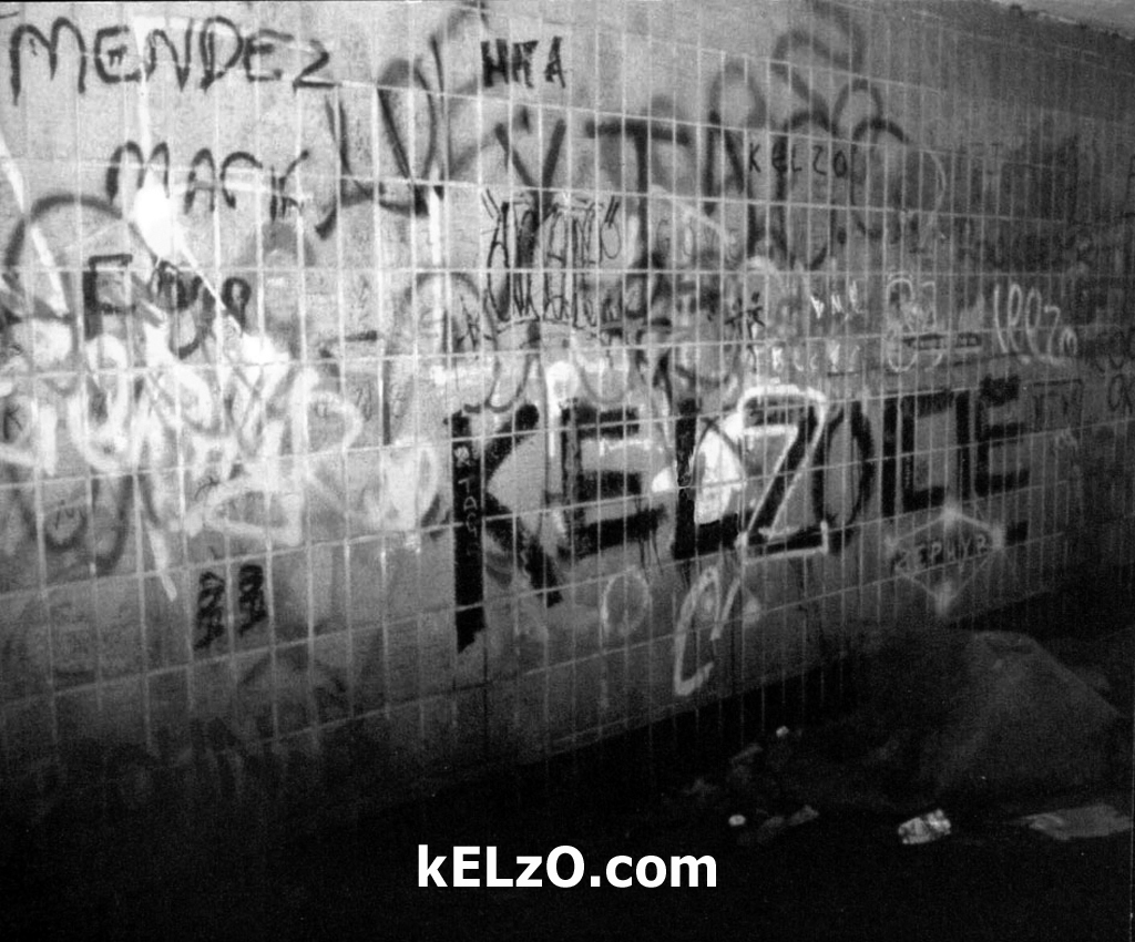 In the beginning: Kelzo and Icie, Hulme subways (1985)
