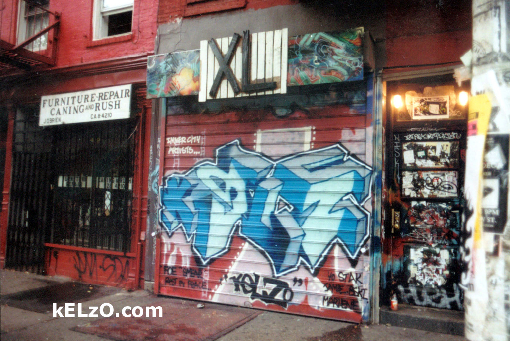 XL store, Lower East Side, Manhattan, New York (1995)