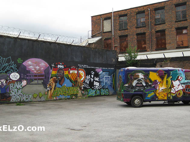 Hope Mill studios, Ancoats, Manchester (2010)
