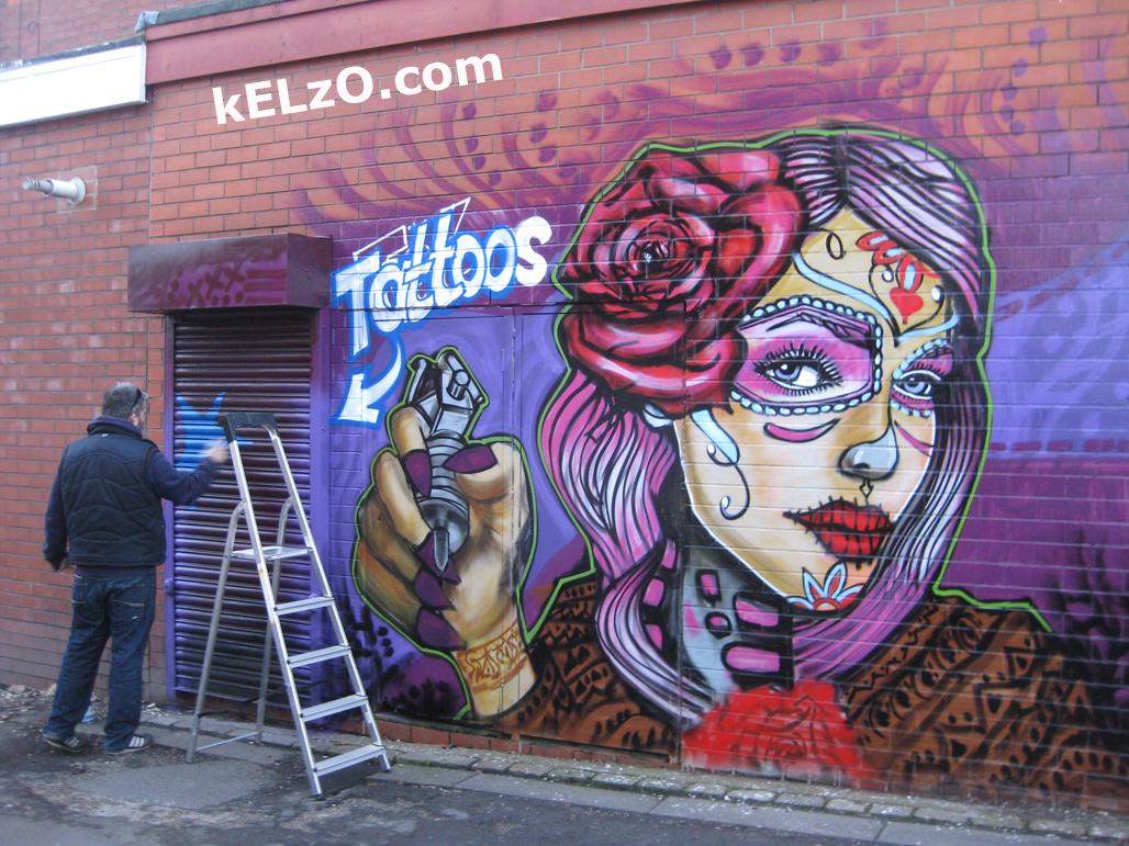 Tattoo parlour, Bolton (2013)