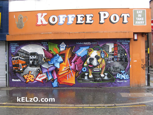 The old Koffee Pot, Stevenson Square, Manchester (2013)