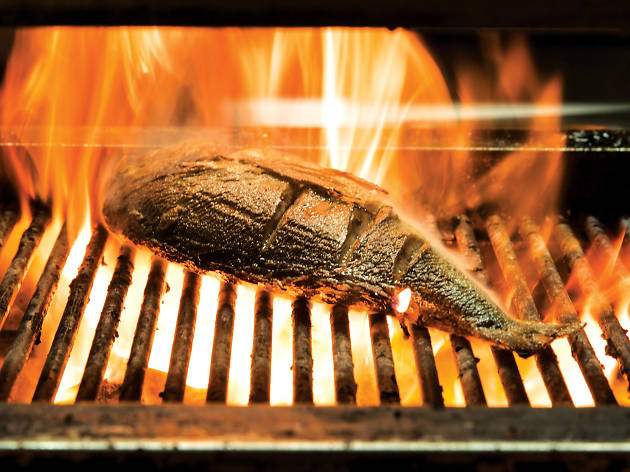 Turtle Bay grilled meat