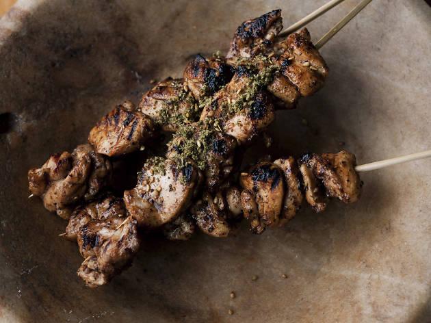 Sesame grilled meat