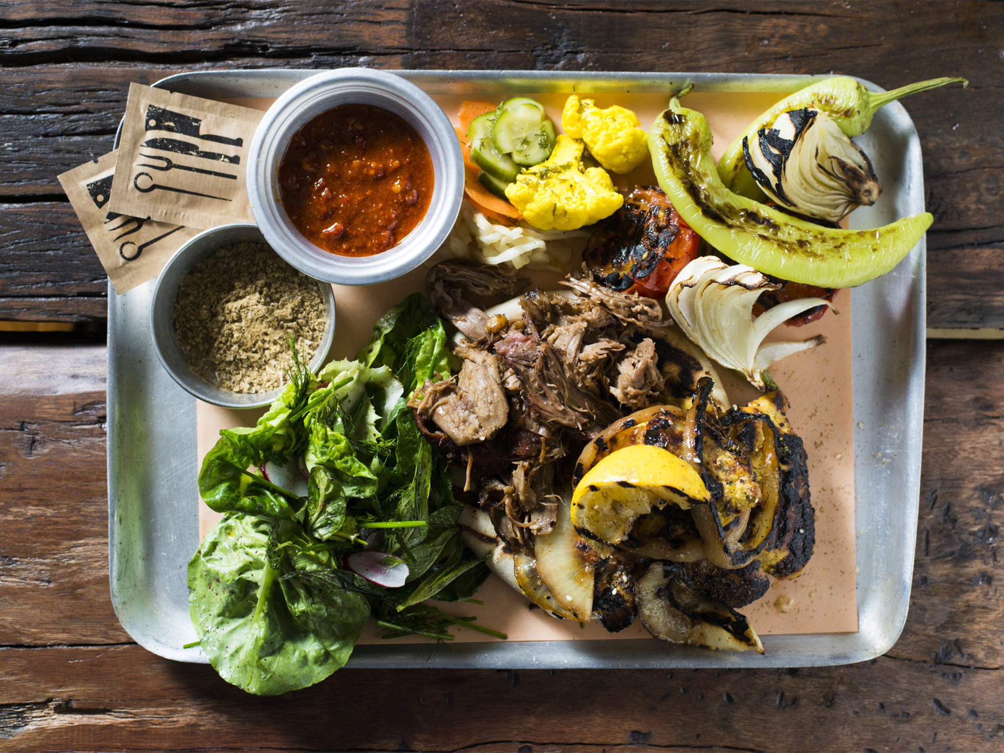 Berber & Q grilled meat