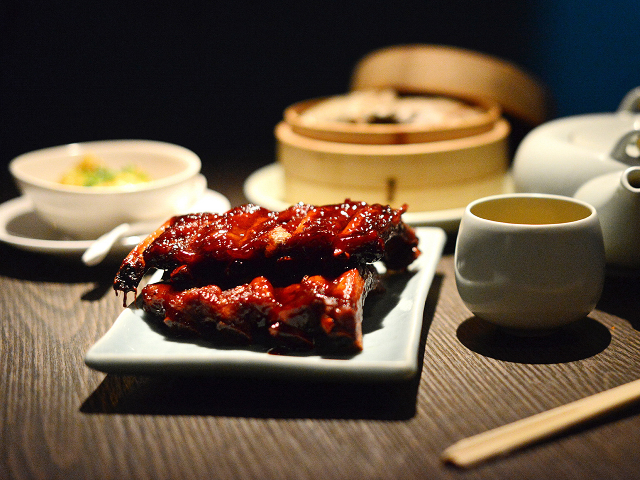 Yauatcha City grilled meat