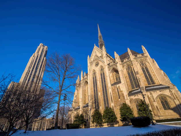 Be in awe of the Cathedral of Learning