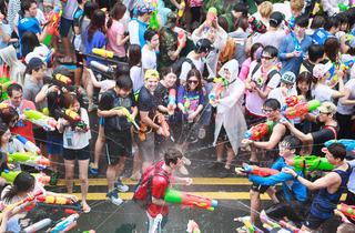 2015 신촌 물총축제