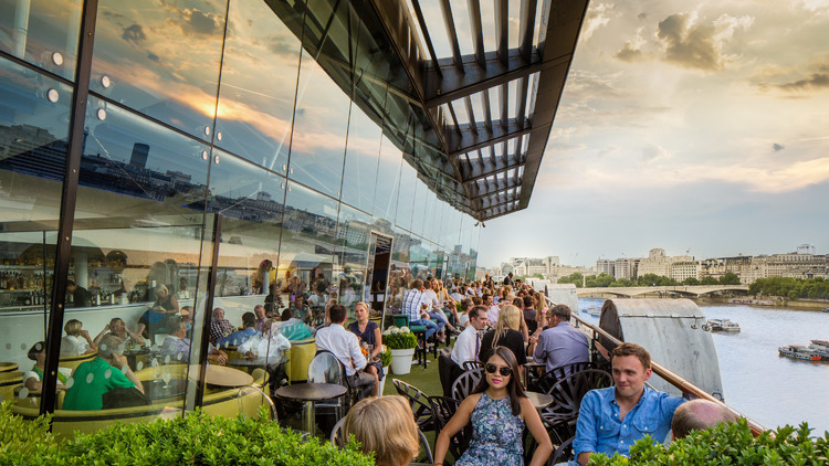 Top of the world: the best rooftop restaurants in London