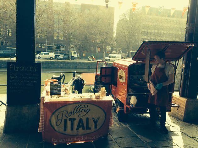 commercial peroni rolling italy