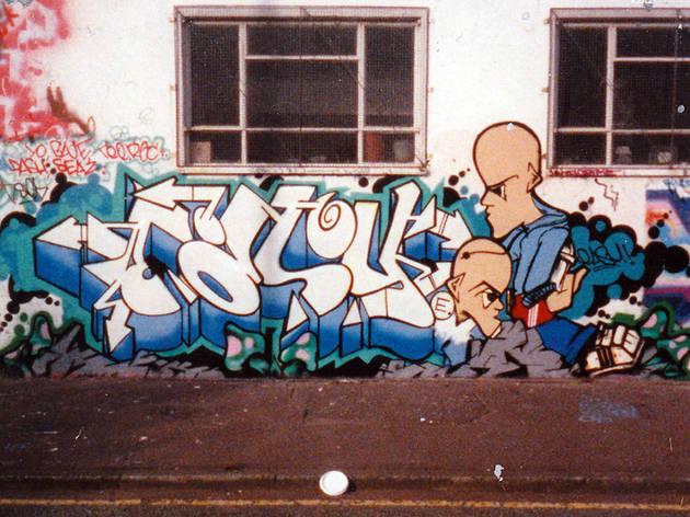 Easy, Style Stars crew, Ashbury's garage, Manchester (1989 - '90)