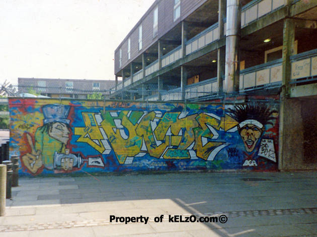 Kelzo - first Hulme piece (early 1993)