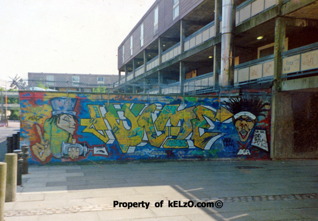 Kelzo - first Hulme piece (early 1993)