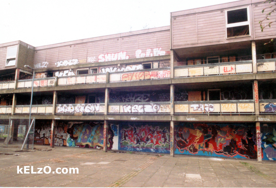 Our first hall of fame, Woodock Square, Hulme (1995)
