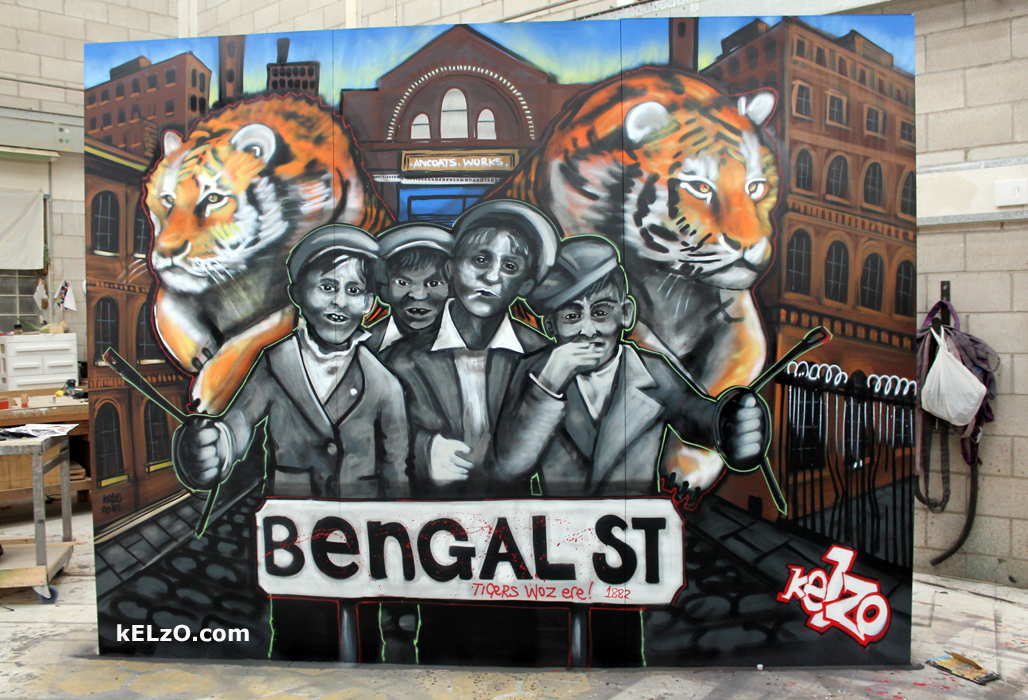 Bengal Street Tigers, The Scuttlers, Royal Exchange, Manchester (2015)