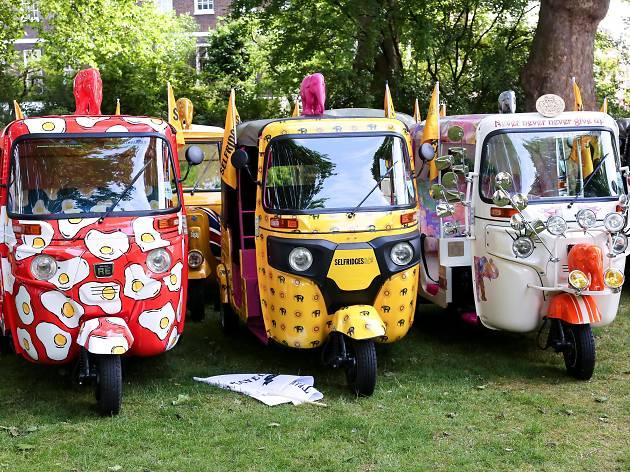 Travels to My Elephant: Autorickshaws in London