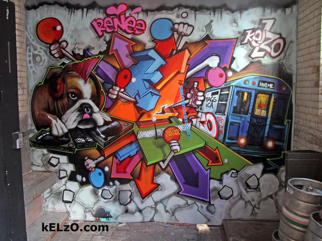 The life and times of graffiti artist Kelzo