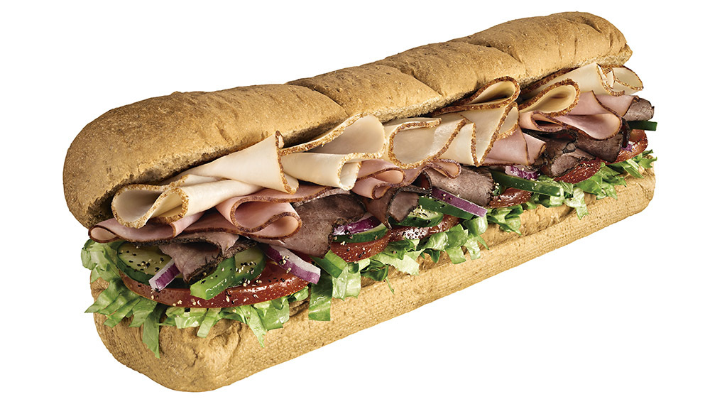 how to build a subway sandwich
