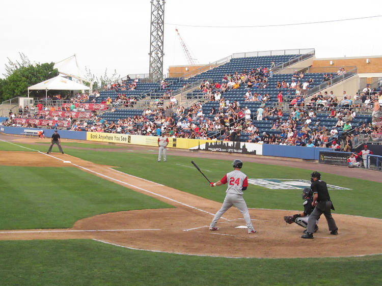 Watch the Brooklyn Cyclones play the field