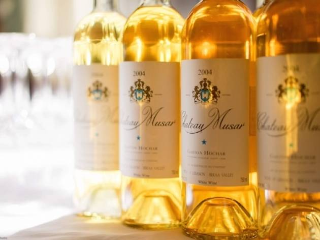 The Church Key's Chateau Musar Pairing Dinner