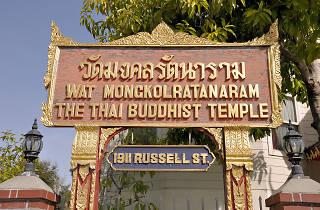 Thai Buddhist temple Wat Mongkolratanaram