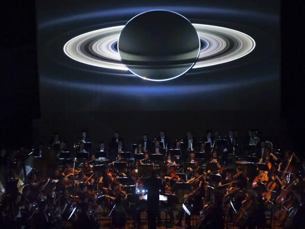 Cine sinfónico Los planetas